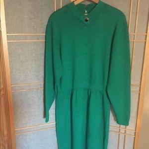 St John by Marie Gray Santana Knit Dress Sz 14